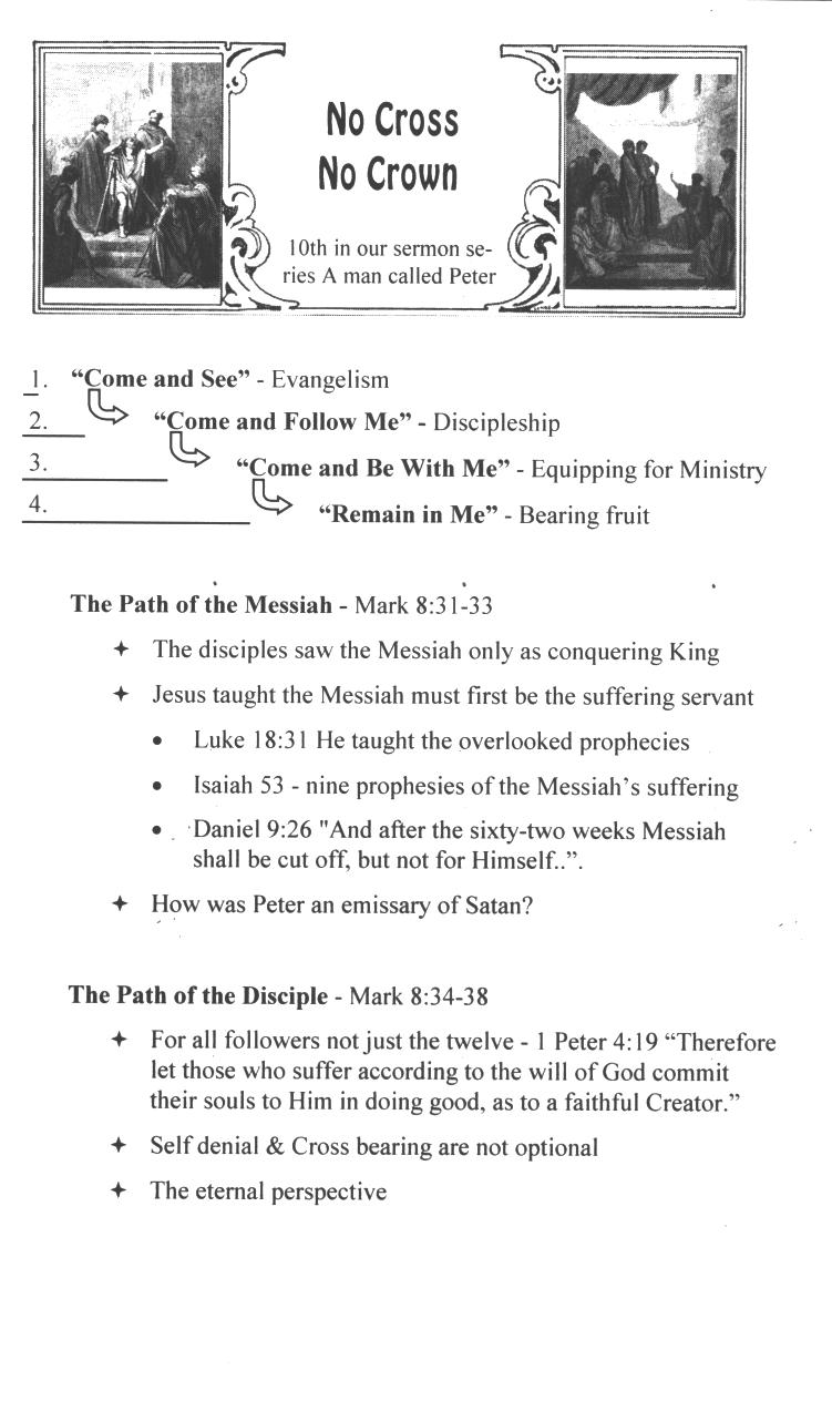 CEFC A Man Called Peter Sermons Page